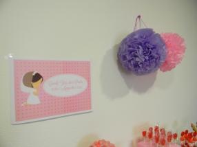 Cartel y pompones